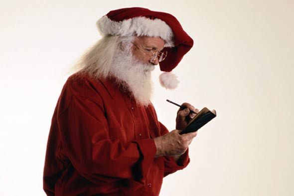 Send a letter from Santa to support the NSPCC