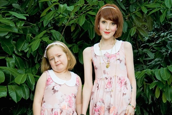 Anorexic mum Rebecca Jones wears same size clothes as SEVEN year old daughter Maisy