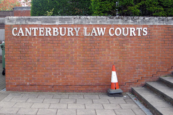 Canterbury courts: Pregnant mum jailed for supermarket assault