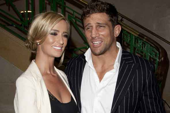 Chantelle Houghton and bruiser  Alex Reid