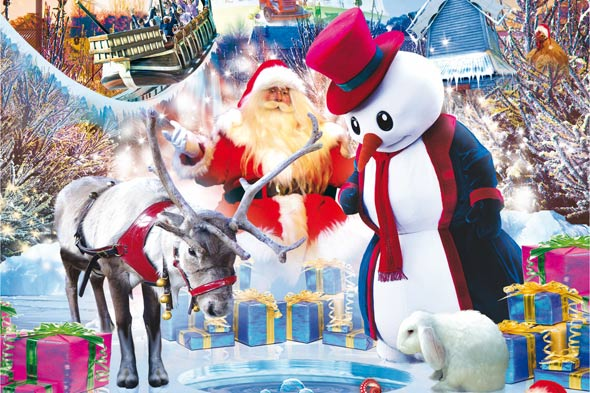 Win a Christmas trip to Alton Towers
