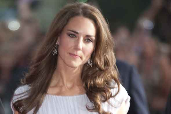 Duchess of Cambridge, Kate Middleton, looking like a princess