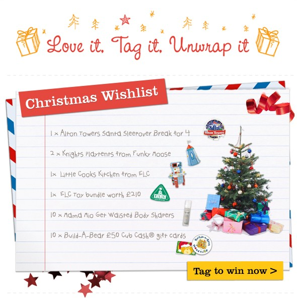 Love it, Tag It, Unwrap it: Parentdish Christmas competition