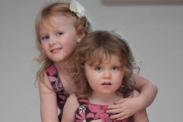 Two sisters battle for life against tumours on their hearts