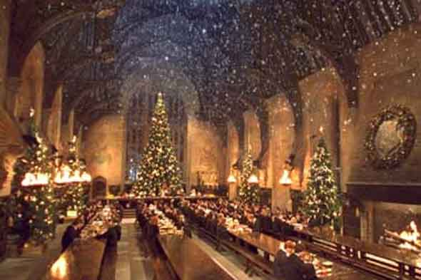 Harry Potter banquet in Hogwarts Hall