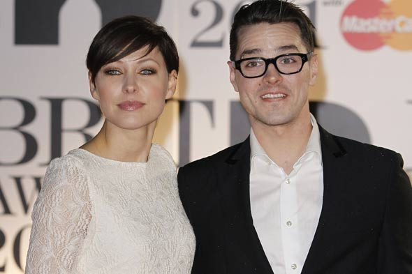 Emma Willis and husband Matt