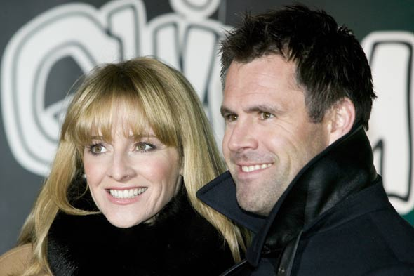 Gabby and Kenny Logan
