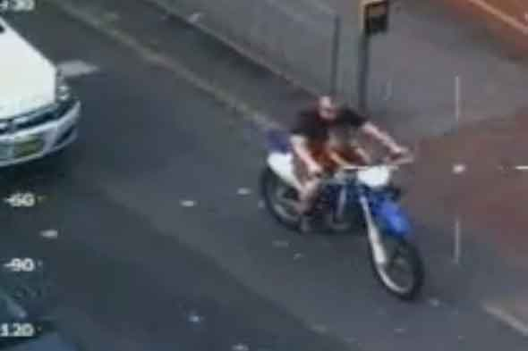 Dad jailed for performing motorbike wheelies with son on petrol tank