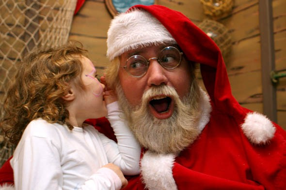 Christmas in the capital: Father Christmas