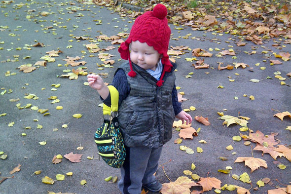 Toddler Tales: Baby D and her handbag