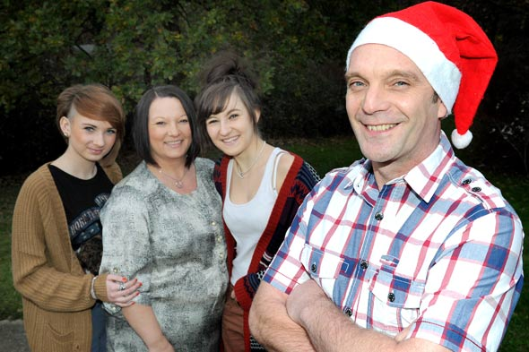Dad loses seventeen years of Christmas memories