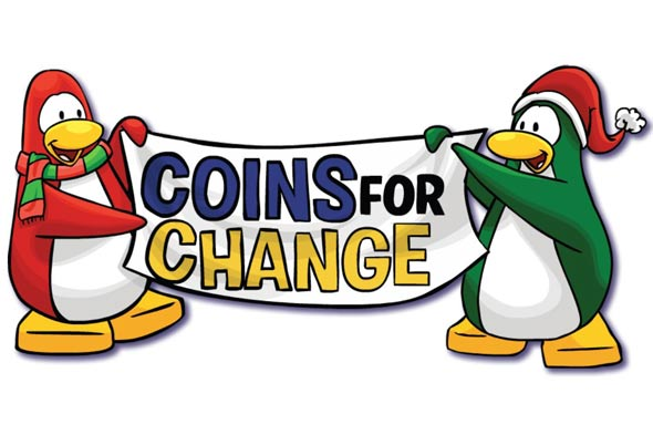 Club Penguin Coins For Change