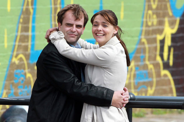 Tracy Ford and Steve Macdonald in Coronation Street
