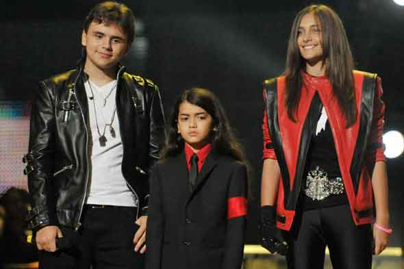 Paris Jackson and her brothers