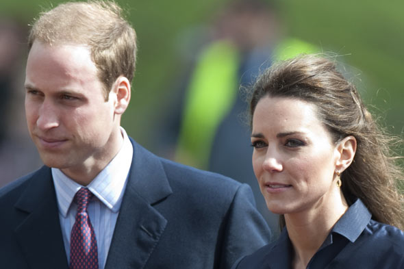 Kate and Wills dodge pregnancy rumours