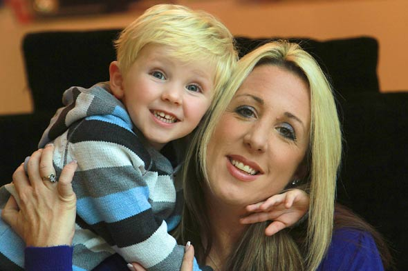 Little lifesaver: Boy saves mum's life whilst still in the womb