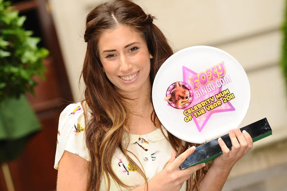Surprise baby for Stacey Solomon