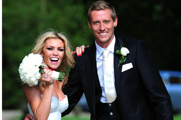 Parents: Abbey Clancy and Peter Crouch  ...
