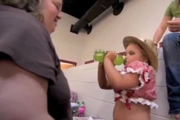 Toddlers and Tiaras mum in doping shock