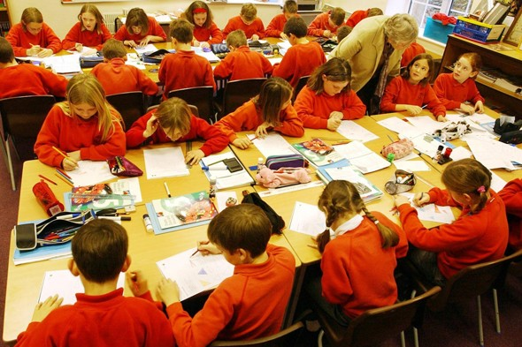 Kids' shocking spelling and maths shortcomings revealed by survey