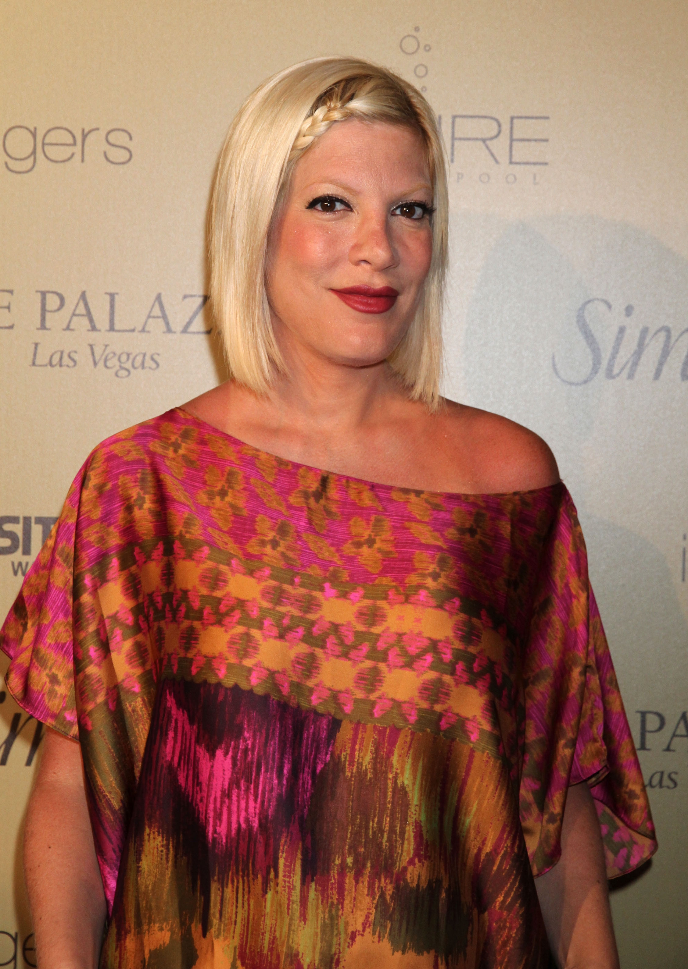 Tori Spelling, mum to Liam, Sella and Hattie