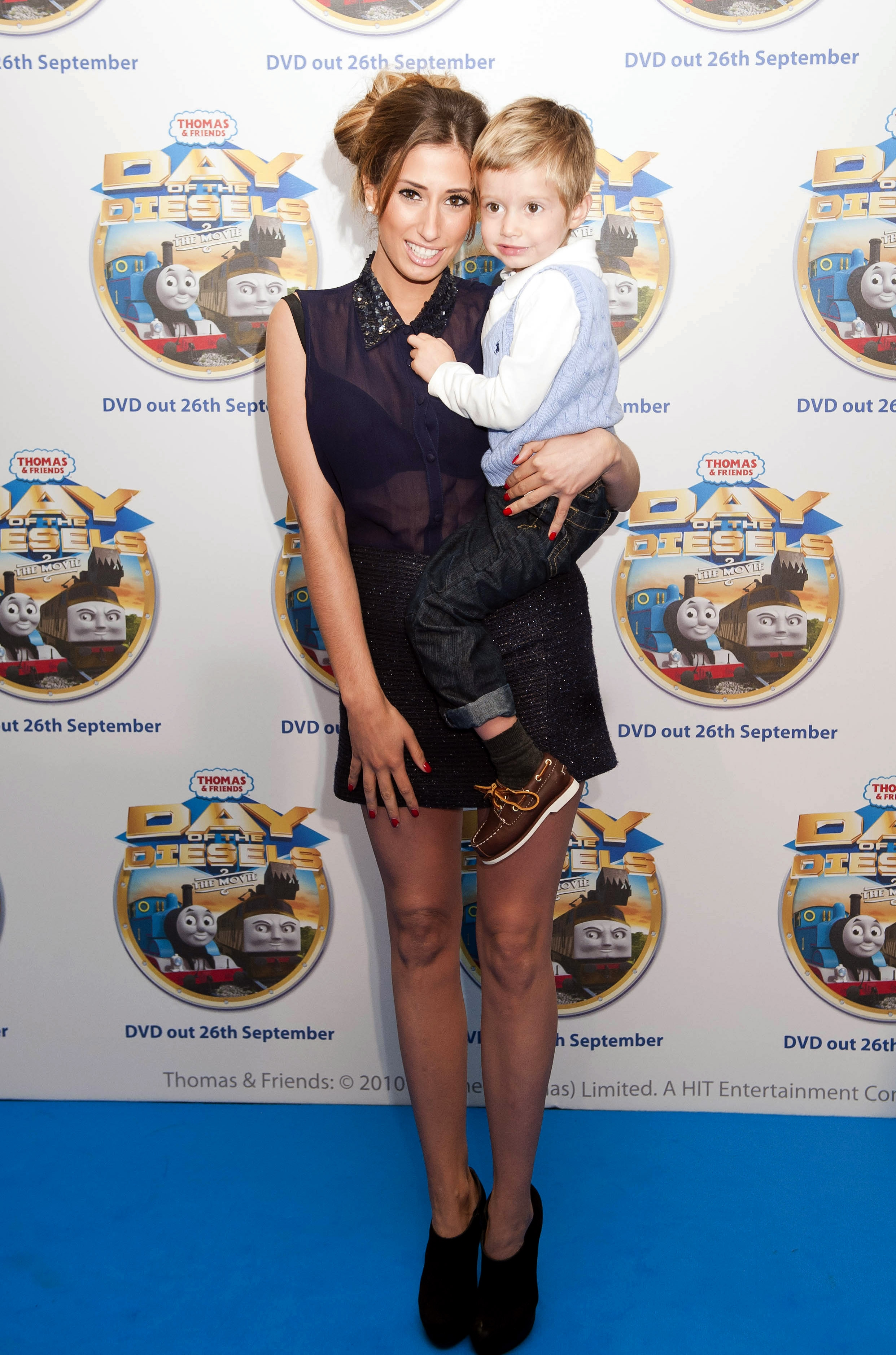 Stacey Solomon, mum to Zachary