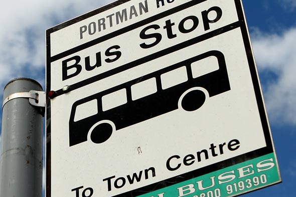 Mum gives birth at a bus stop