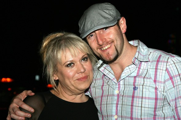 Tina Malone and husband Paul Chase