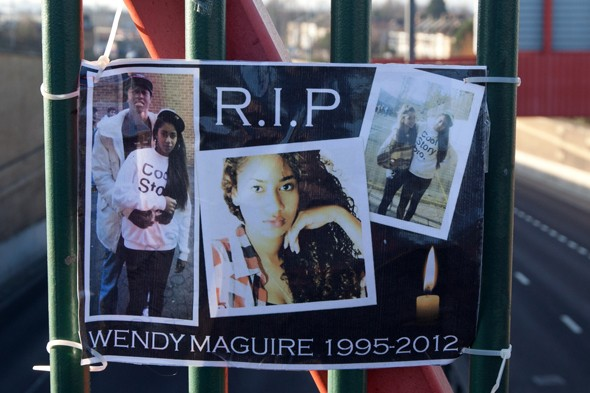 Memorial for drunk teen Wendy Maguire