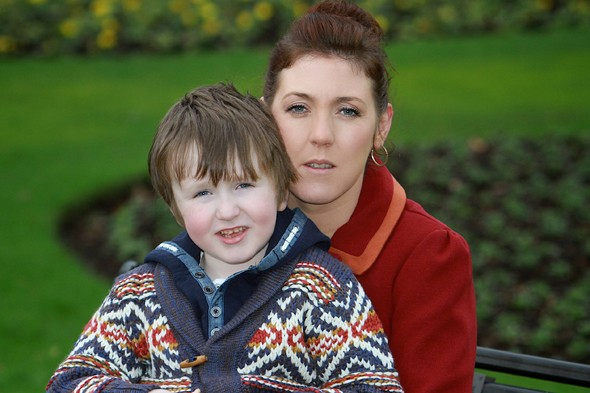 Seamus Rafferty, who has beaten meningitis six times