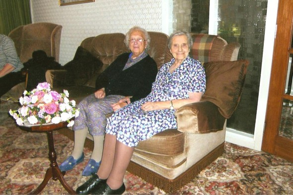 Edith Ritchie and Evelyn Middleton