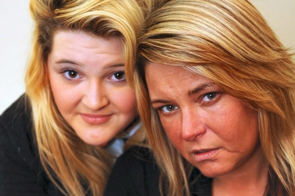 Sammy Booth and mother Julie Cairns: Drunken mum spared jail after daughter wrote to judge begging him to show mercy
