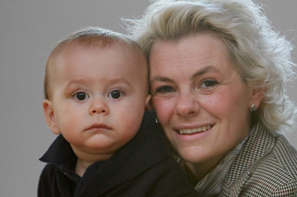 Miracle baby survives six months of chemo in the womb