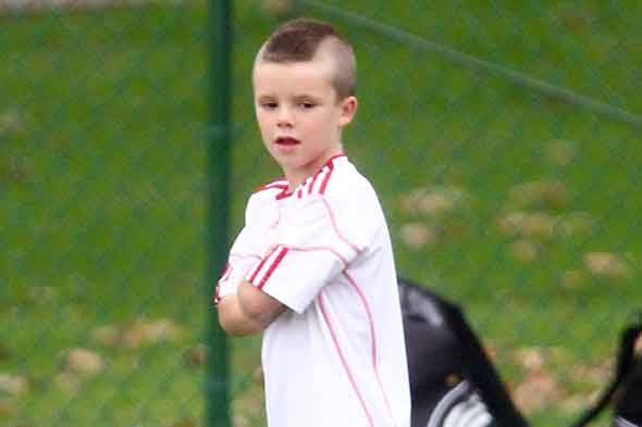 Tough guy Cruz Beckham
