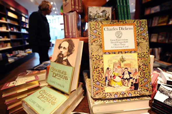 Kids lack concentration skills to read Charles Dickens