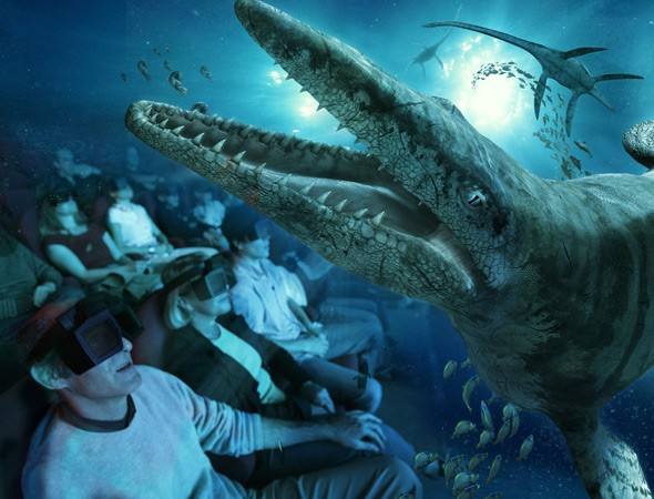 Futuroscope: Seamonsters