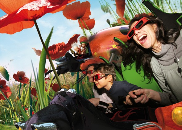 Futuroscope: Is this the future for theme parks? Arthur, the 4D Adventure