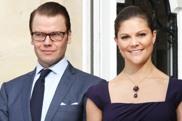 Princess Victoria of Sweden and Prince Daniel