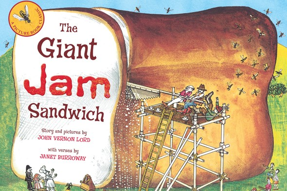 giant jam sandwich coloring pages - photo#12