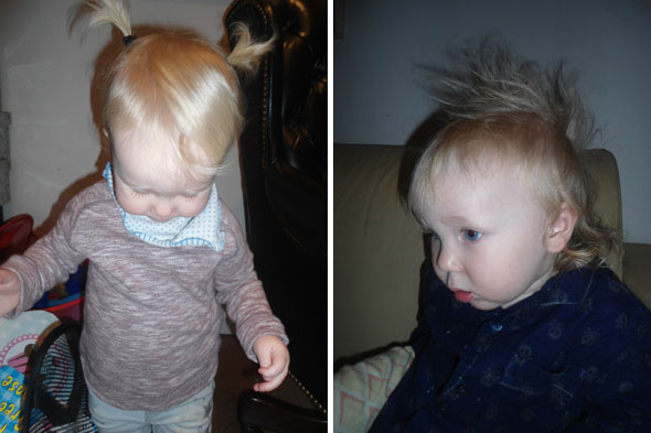 Toddler Tales: Hair-raising