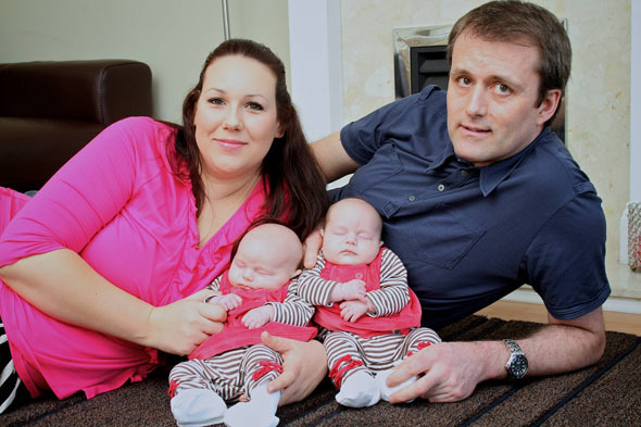 Twins after nine years and 16,000 miles on fertility treatment