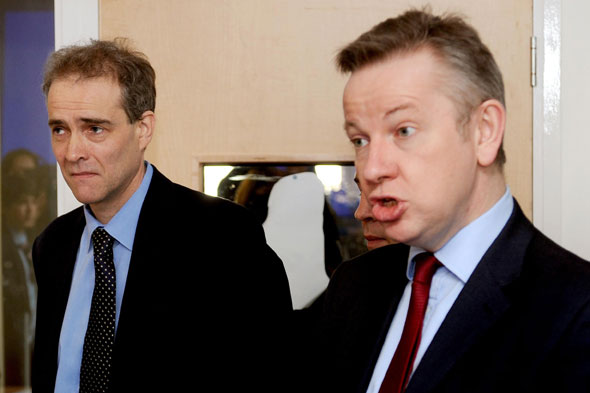 Charlie Taylor and Michael Gove