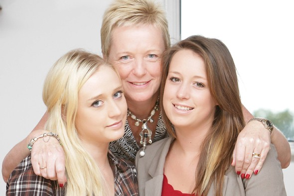 Our daughter saved our lives: Couple are most diagnosed with cancer after teenager daughter discovers own lump and raises awareness