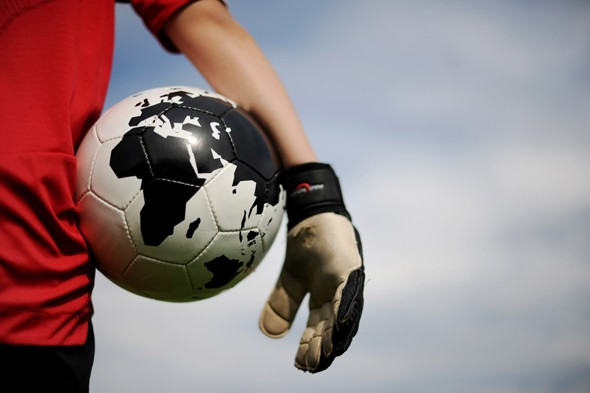 Footballs banned in Gloucestershire school