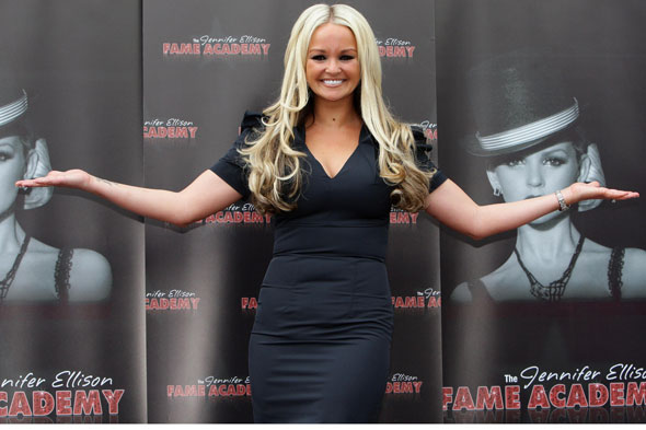 Jennifer Ellison on throwing up during labour