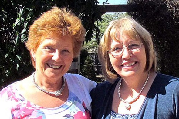 Sisters Jenny Lee Smith and Helen Edwards reunited after being separated 50 years ago