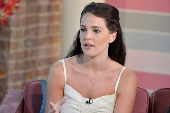 Danielle Lloyd talks about her postnatal depression on This Morning