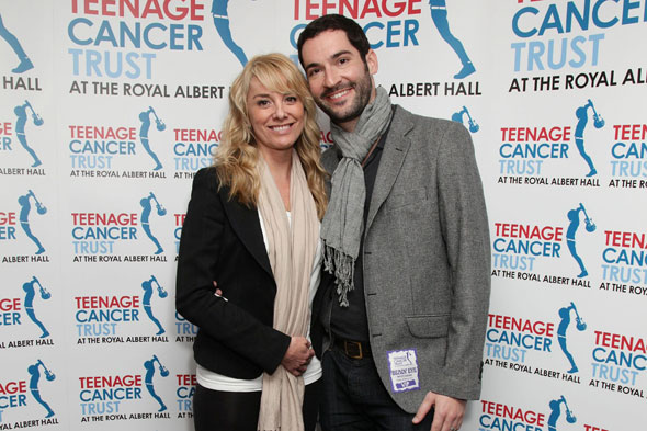 Tamzin Outhwaite and husband Tom Ellis