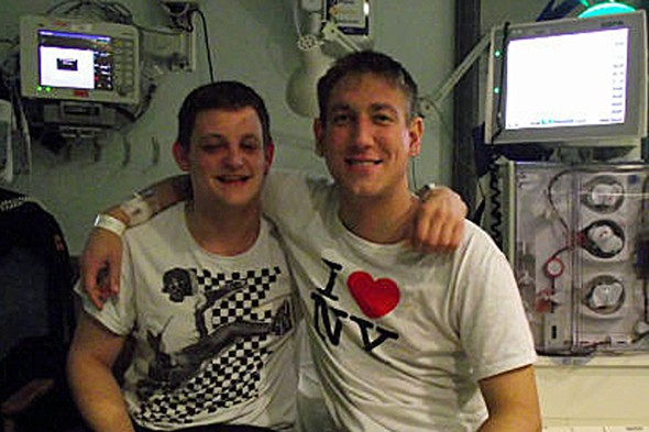 Beyond the call of duty: Best man donates kidney to best friend so he can see his child grow up