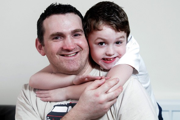 'Why did you lie to me, dad?' Eight-year-old Googles his illness and discovers it's terminal